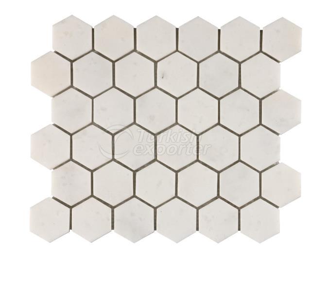 Honeycomb Kemalpasa White 4,8 cm