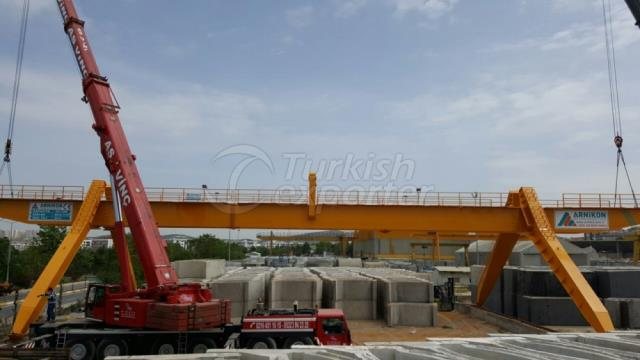 Gantry Crane With Consoles