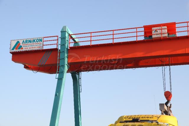 Marble Gantry Crane from Turkey
