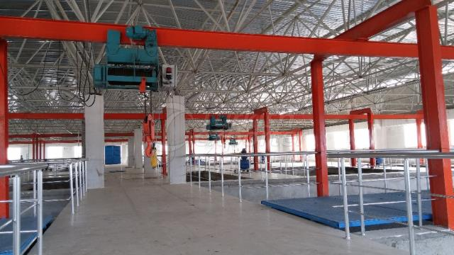 Treatment Plant Crane
