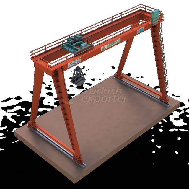 hydraulic grab Gantry Crane