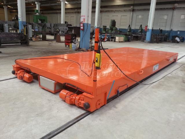 railed transfer trolley