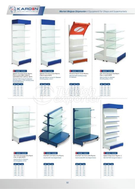 Shop and Supermarket Equipments