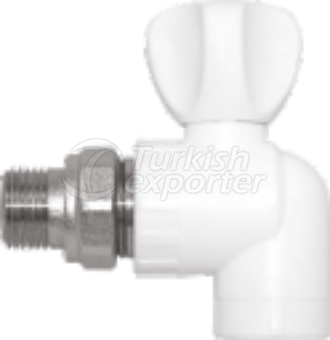 Pprc Elbow Radiator Valve