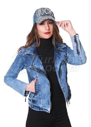 Woman Jeans Jacket