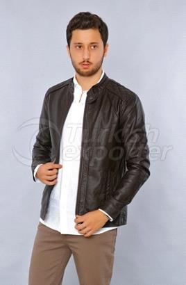 Man Leather Coat