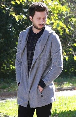 Hooded Long Trenchcoat