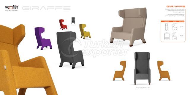 Giraffe Arm Chair