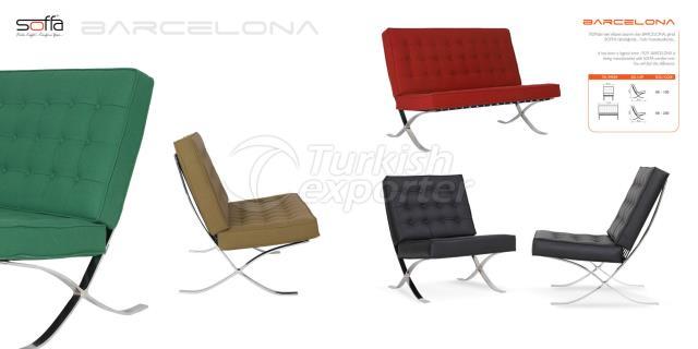 Barcelona Sofa Armchair