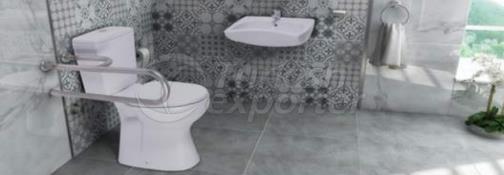 Disabled Wash Basin - Flush Toilet