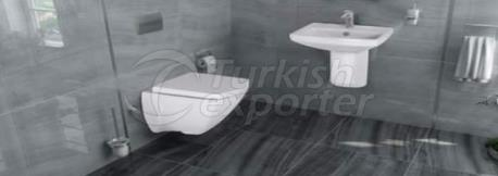 Wash Basin - Flush Toilet Star