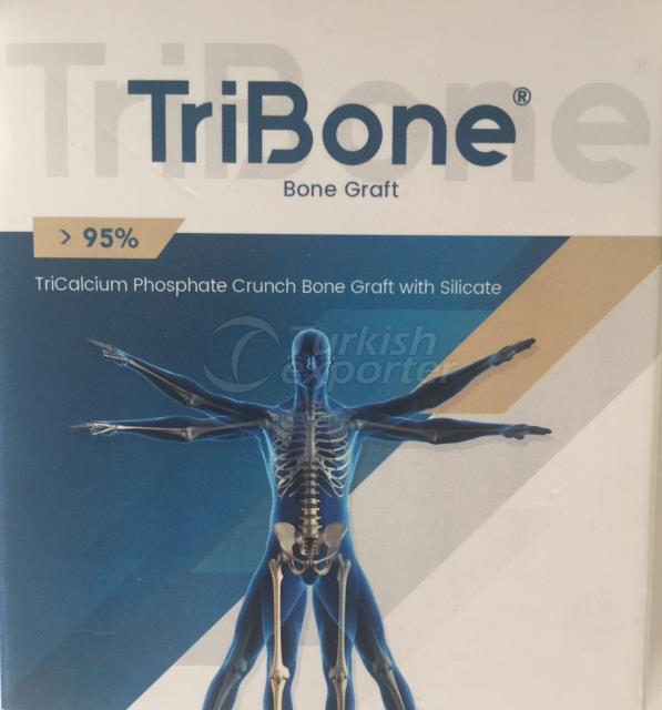 Tribone bone graft