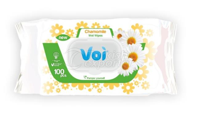 Wet Wipes CHAMOMILE VOI5