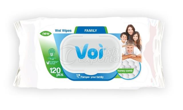 Wet Wipes FAMILY VOI8