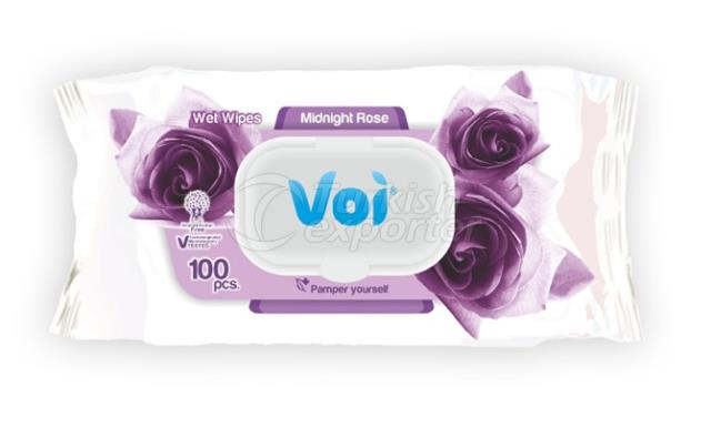 Wet Wipes ROSE VOI6