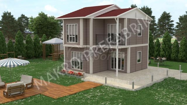 Double Floor Houses 90 m²