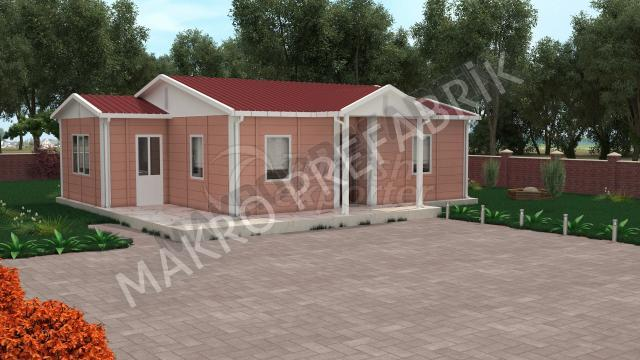 Single Floor Houses 72 m²