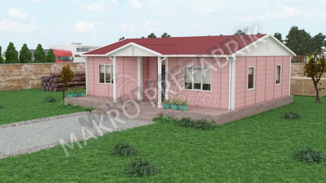 Single Floor Houses 81 m²