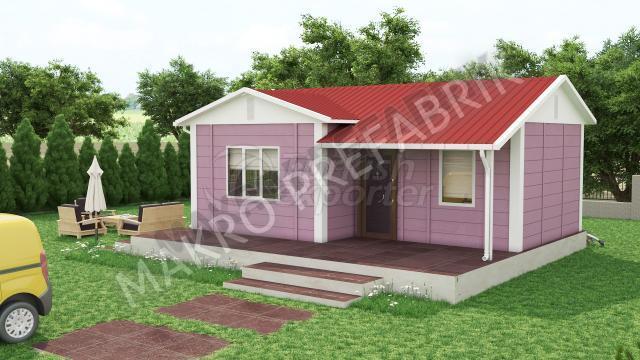 Single Floor Houses 40 m²