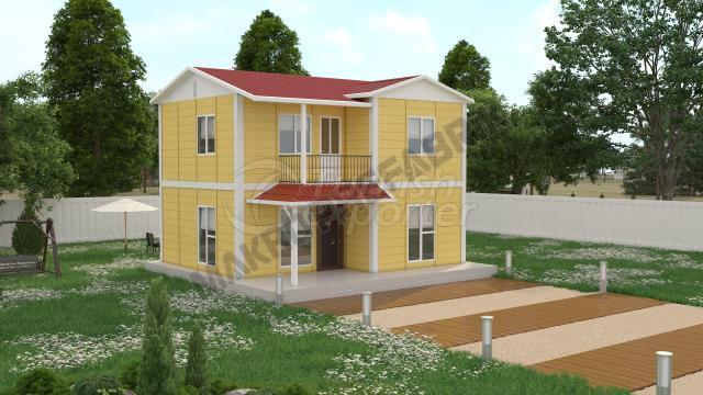 Double Floor Houses 100 m²