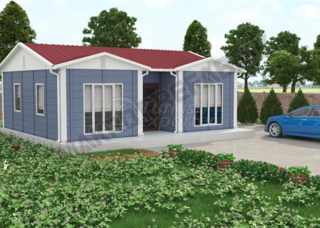 Single Floor Houses 52 m²