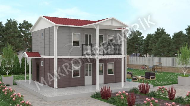 Double Floor Houses 114 m²