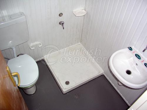WC - Shower Container