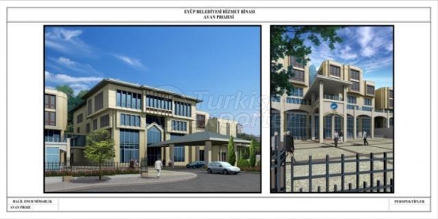 Eyup Municipality Service Building 2015