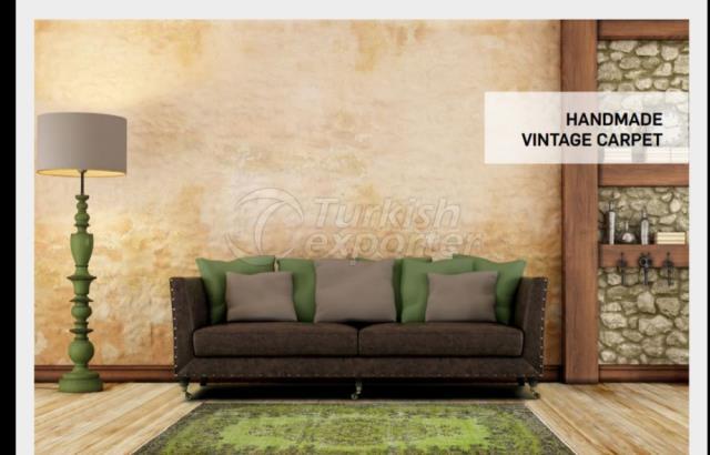 Handmade Vintage Carpet