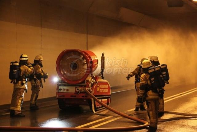 Mobile Fire Extinguishing Robot LUF-60