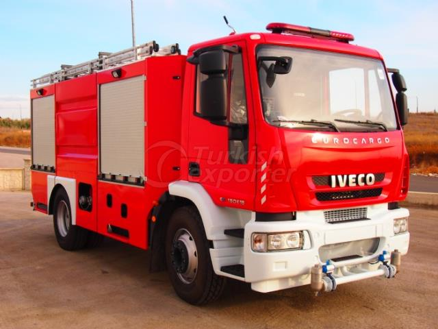 Fire-Fighting Vehicles With Portable Ladder