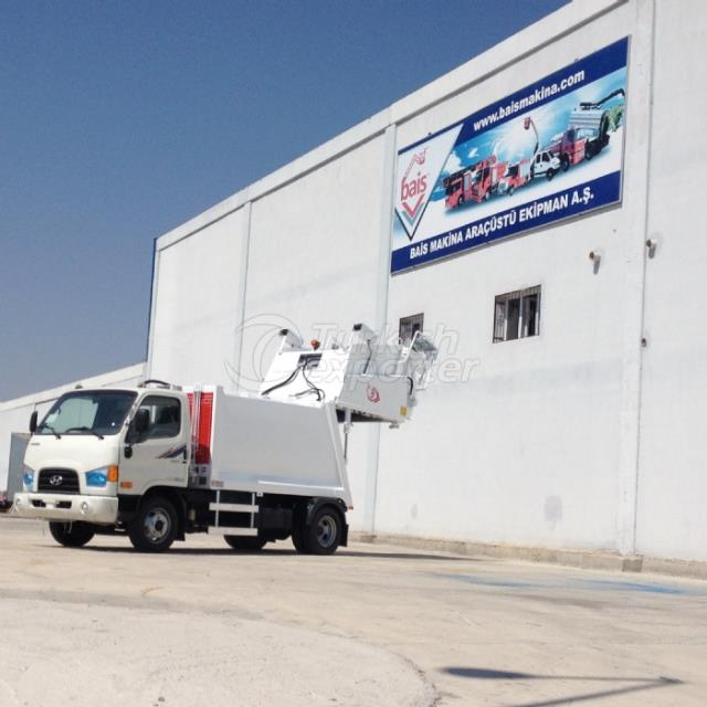 Waste Collection Vehicles with Hydraulic Press