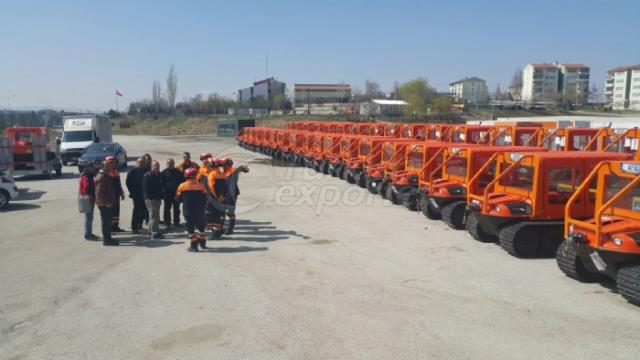 Amphibious Rescue Vehicles