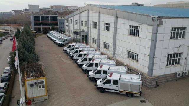 First Responder Vehicles MERCEDES SPRİNTER