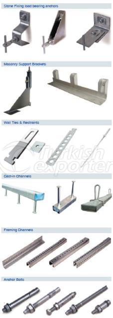 Fixing System Product Range