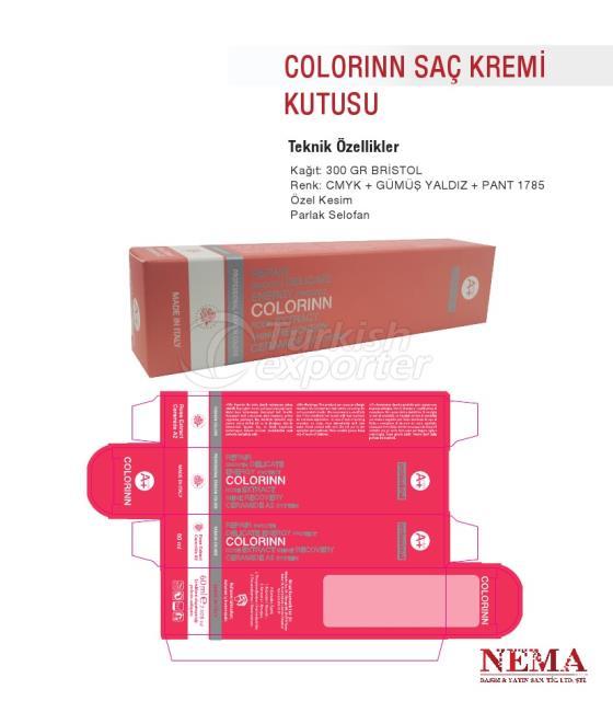 Colorinn Hair Cream Box