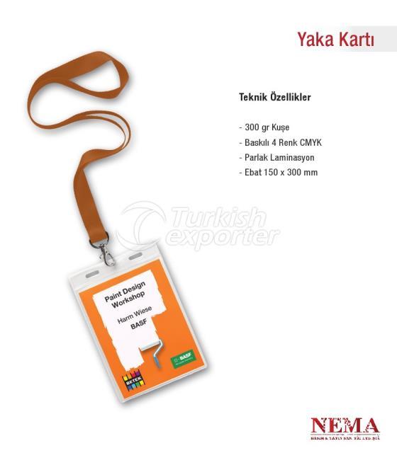 Collar Card