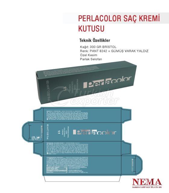 Perlacolor Hair Cream Box