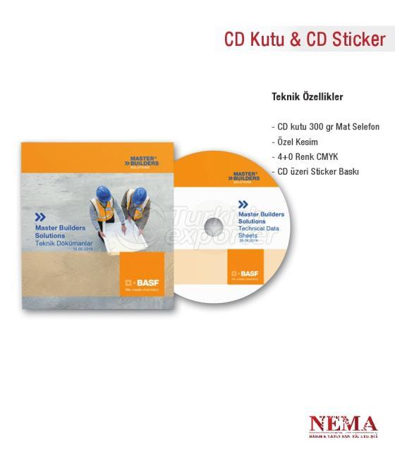 CD Box - CD Sticker