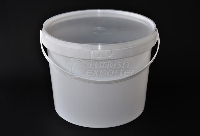 4000 ml plastic round bucket