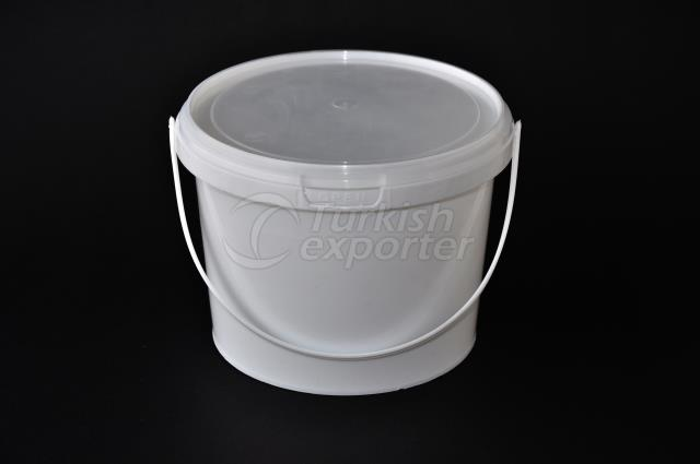 2250 ml plastic round bucket