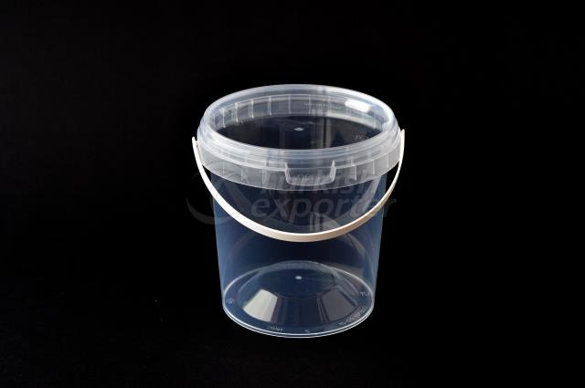 900 ml plastic round bucket