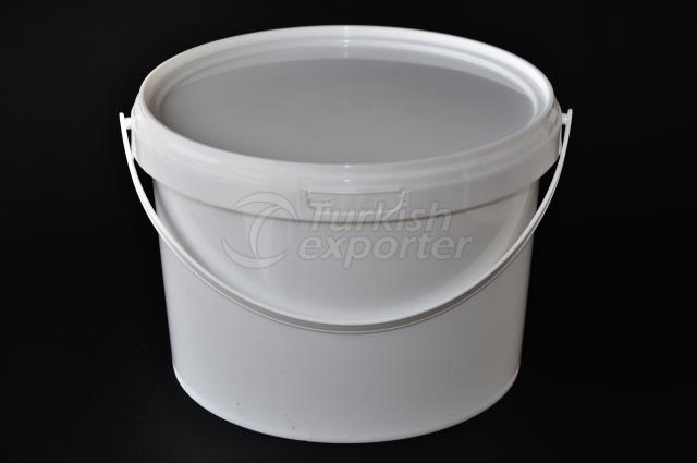 5000 ml plastic round bucket
