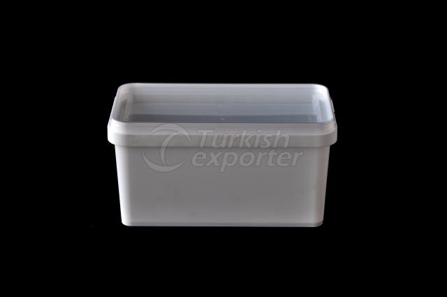 800 ml plastic rectangular box
