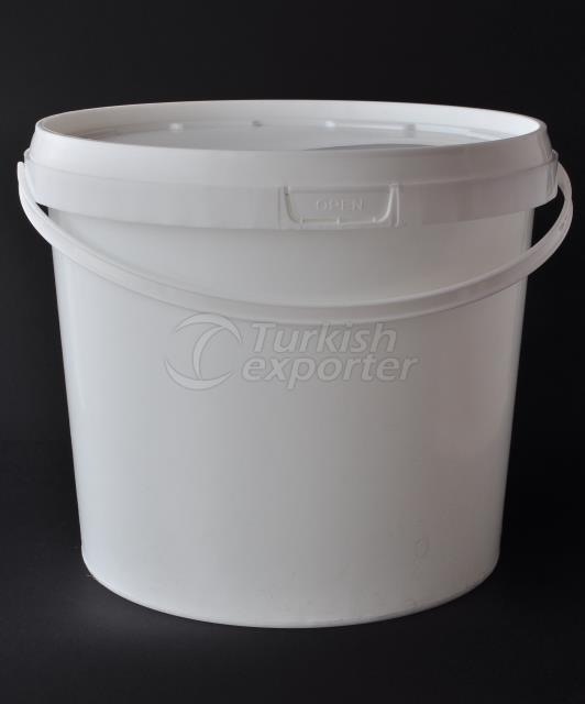 20000 ml plastic round bucket