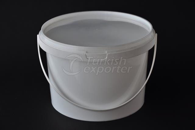 3000 ml plastic round bucket