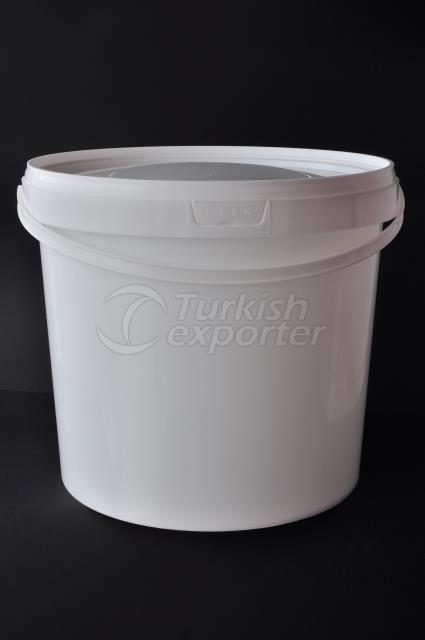 9000 ml plastic round bucket