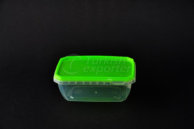 350 ml plastic rectangular case