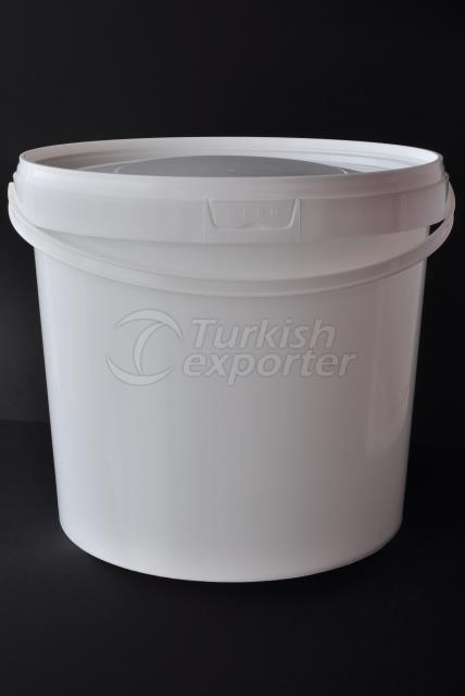 10000 ml plastic round bucket