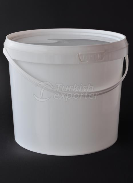 18000 ml plastic round bucket